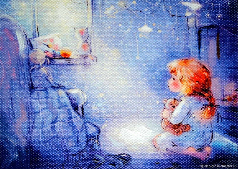 """Картина маслом """"Лучик счастья"""", Картины, Таганрог,  Фото №1"""