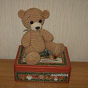 Куклы и игрушки ручной работы. Ярмарка Мастеров - ручная работа Милый вязаный медвежонок. Handmade.