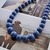 Винтаж ручной работы. Ярмарка Мастеров - ручная работа Бусы из афганского лазурита. Бадахшанский лазурит. Афганистан. Handmade.