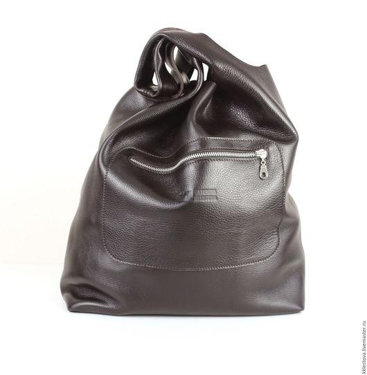 Женские сумки ручной работы. Ярмарка Мастеров - ручная работа. Купить Сумка - Мешок - Пакет -среднего размера с двумя карманами. Handmade.