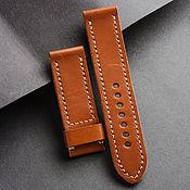 Украшения handmade. Livemaster - original item Calf leather watchband (65). Handmade.