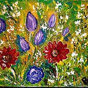 Картины и панно handmade. Livemaster - original item Floral inspiration.. Handmade.