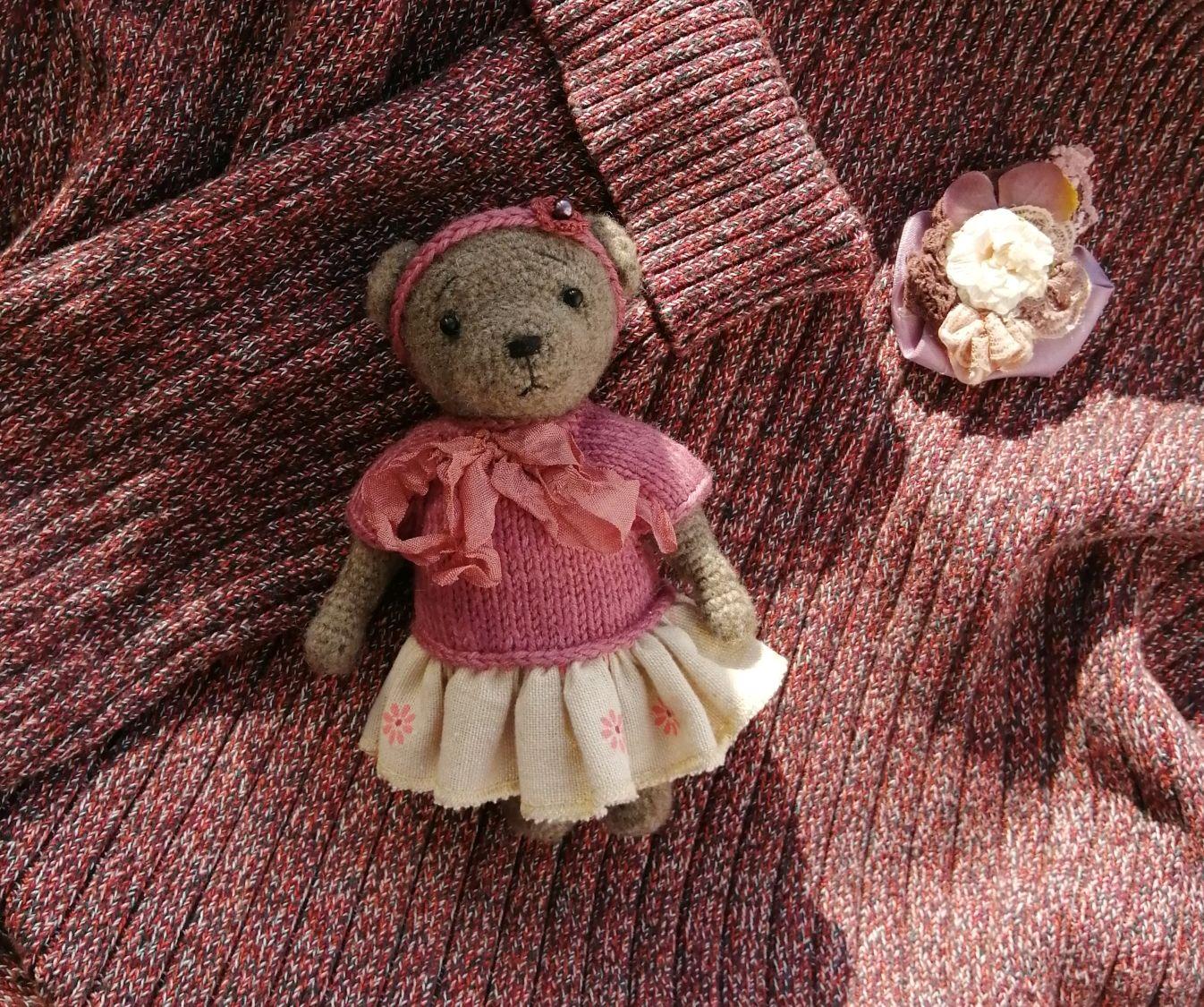 Мишка Wool Bear 18см, Мягкие игрушки, Казань,  Фото №1