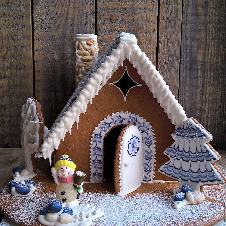 пряничный домик рецепт с фото пошагово картинки для