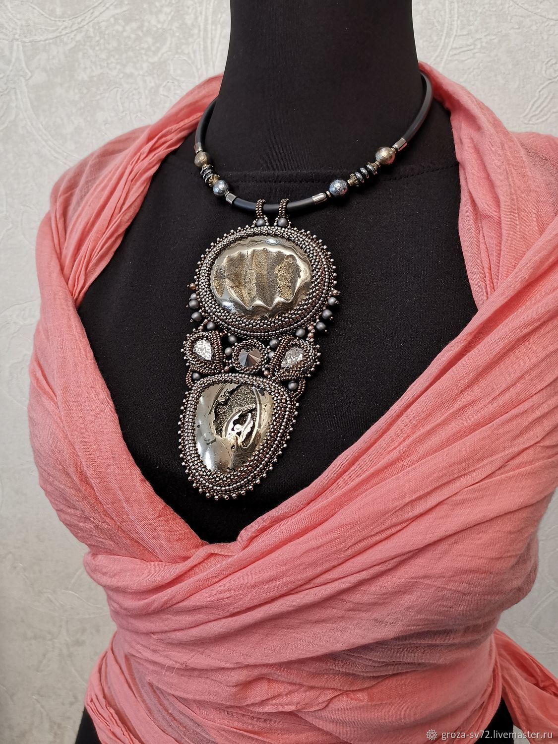 Pendant necklace ' Antiquity', Necklace, Moscow,  Фото №1