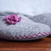 Обувь ручной работы handmade. Livemaster - original item Felted Slippers (felted ballet flats). Handmade.