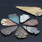 Субкультуры handmade. Livemaster - original item Stone arrowheads 15-40mm. Handmade.