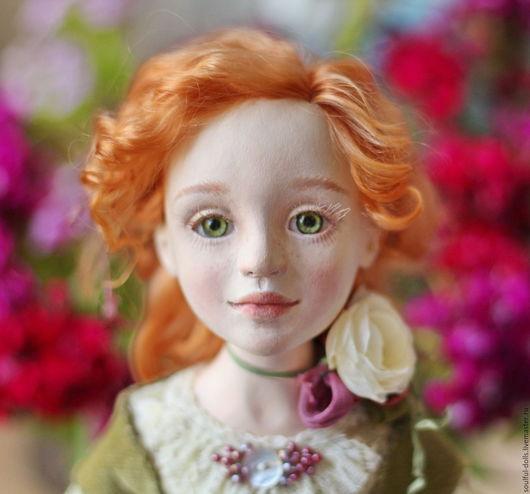 Коллекционные куклы ручной работы. Ярмарка Мастеров - ручная работа. Купить Арина. Handmade. Рыжий, кукла в подарок, подарок девочке