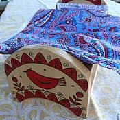 Куклы и игрушки ручной работы. Ярмарка Мастеров - ручная работа Кроватка  с Мезенкой. Handmade.