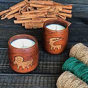 Свечи ручной работы. Ярмарка Мастеров - ручная работа Свеча из соевого воска. Handmade.