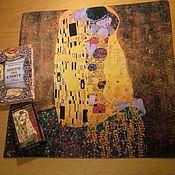 """Фен-шуй и эзотерика ручной работы. Ярмарка Мастеров - ручная работа Скатерть """"Климт"""". Handmade."""