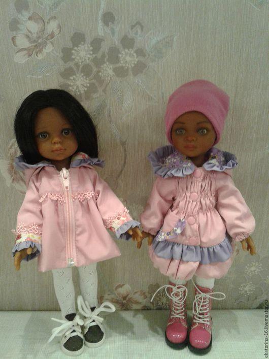 Одежда для кукол ручной работы. Ярмарка Мастеров - ручная работа. Купить курточка для кукол Паола Рейна. Handmade. Розовый, кукла