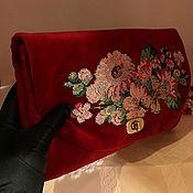 Сумки и аксессуары handmade. Livemaster - original item Velvet bag
