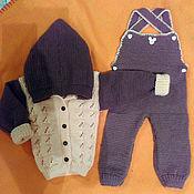 Одежда ручной работы. Ярмарка Мастеров - ручная работа Детский вязаный костюмчик. Handmade.