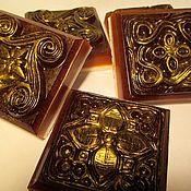 """Косметика ручной работы. Ярмарка Мастеров - ручная работа """"Три шоколада""""(мыло скраб). Handmade."""