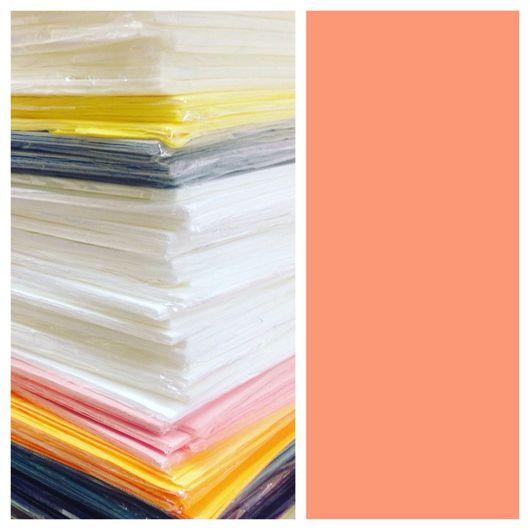 Фоамиран ручной работы. Ярмарка Мастеров - ручная работа. Купить Фом зефирный, 5 листов в наборе, от поставщика, оранжевый цвет. Handmade.