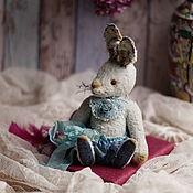 Куклы и игрушки ручной работы. Ярмарка Мастеров - ручная работа зайка-тедди Майя. Handmade.