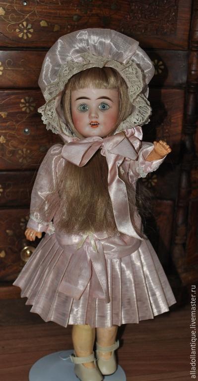 Коллекционные куклы ручной работы. Ярмарка Мастеров - ручная работа. Купить Продается очаровательная антикварная кукла. Handmade. Бледно-розовый
