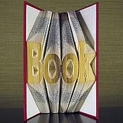 """Для дома и интерьера ручной работы. Ярмарка Мастеров - ручная работа Подарок для интерьера, оригинальные подарки  - """"Book"""". Handmade."""