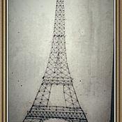Картины и панно ручной работы. Ярмарка Мастеров - ручная работа Картины в стиле string art. Handmade.