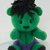 Куклы и игрушки ручной работы. Ярмарка Мастеров - ручная работа Мишка Халк (Hulk). Handmade.