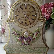 """Для дома и интерьера ручной работы. Ярмарка Мастеров - ручная работа Часы каминные """"Версаль"""". Handmade."""