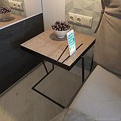 Тумбы ручной работы. Ярмарка Мастеров - ручная работа Тумбы: Кофейный столик в стиле лофт. Handmade.