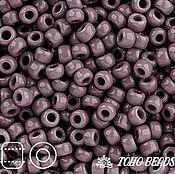 Материалы для творчества handmade. Livemaster - original item 10gr seed Beads 8/0 Toho 52 lavender Japanese TOHO beads opaque. Handmade.