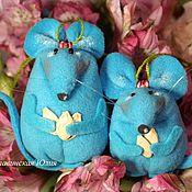 Мягкие игрушки ручной работы. Ярмарка Мастеров - ручная работа Мышка сувенир. Handmade.