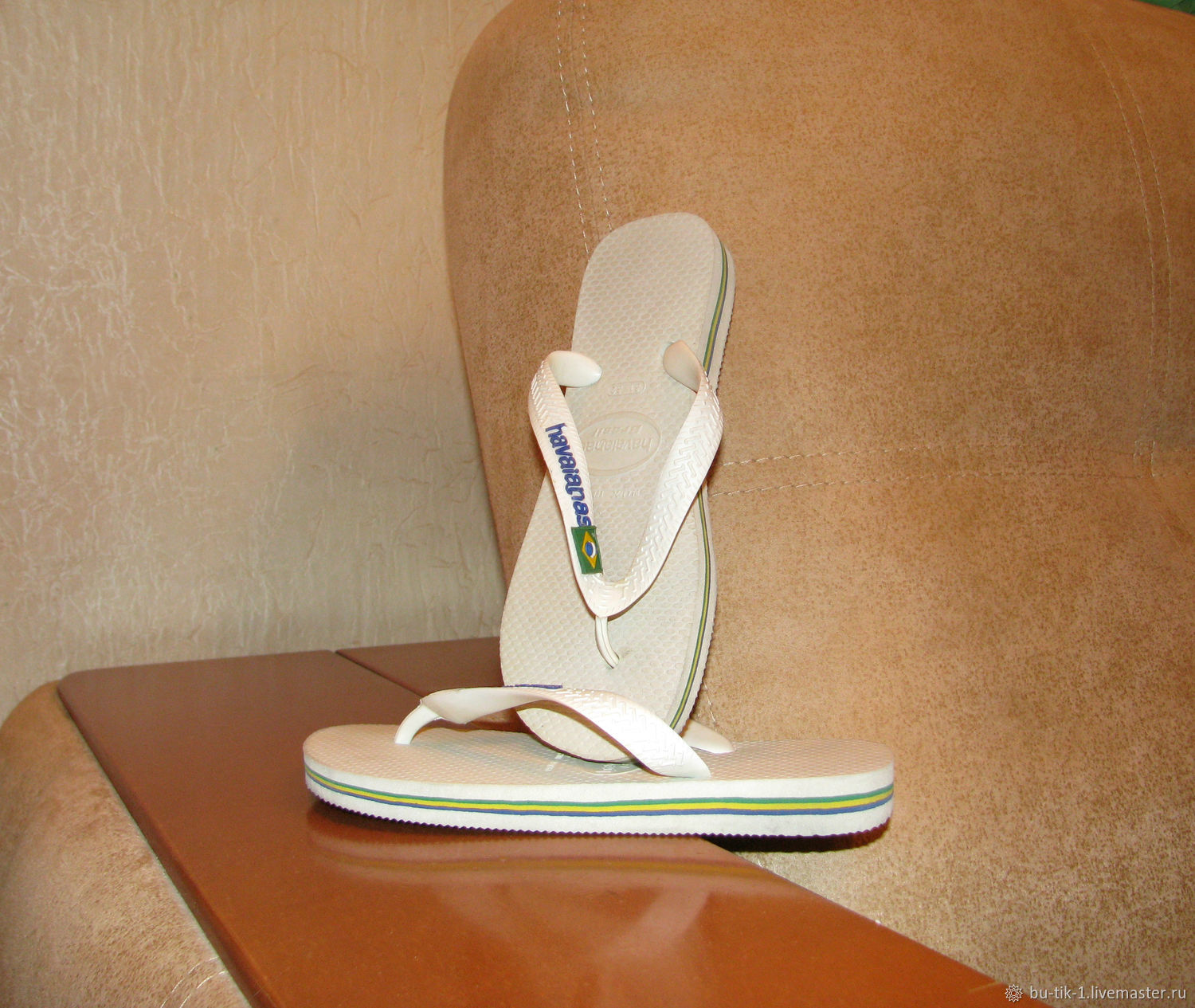 Baby slates Havaianas Brazil Flip Flops size 31, Vintage shoes, Moscow,  Фото №1