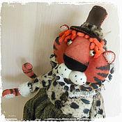 Куклы и игрушки handmade. Livemaster - original item Soft toys: The tiger is the symbol of 2022. Handmade.