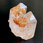 Фен-шуй и эзотерика handmade. Livemaster - original item Fenster Quartz Golden-Bronze, multi-vertex crystal, 25 g. Handmade.