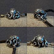 Материалы для творчества handmade. Livemaster - original item Octopus lock for bracelets. Handmade.