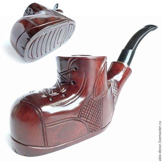 Подарки для мужчин, ручной работы. Ярмарка Мастеров - ручная работа. Купить Курительная трубка SHOE. Handmade. Трубка, курительные трубки