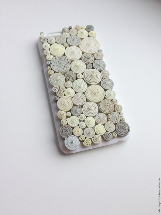 Для телефонов ручной работы. Ярмарка Мастеров - ручная работа. Купить Чехол для iPhone 6. Handmade. Полимерная глина, чехол