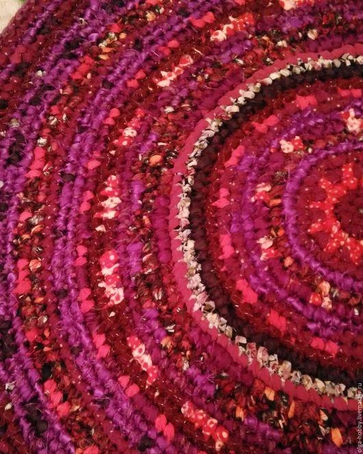 """Текстиль, ковры ручной работы. Ярмарка Мастеров - ручная работа. Купить Коврик """"Ягодный десерт"""". Handmade. Коврик вязаный, для дома"""