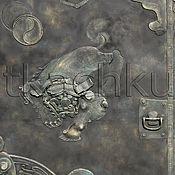 """Для дома и интерьера ручной работы. Ярмарка Мастеров - ручная работа Ворота кованые """"Восточные львы"""". Handmade."""