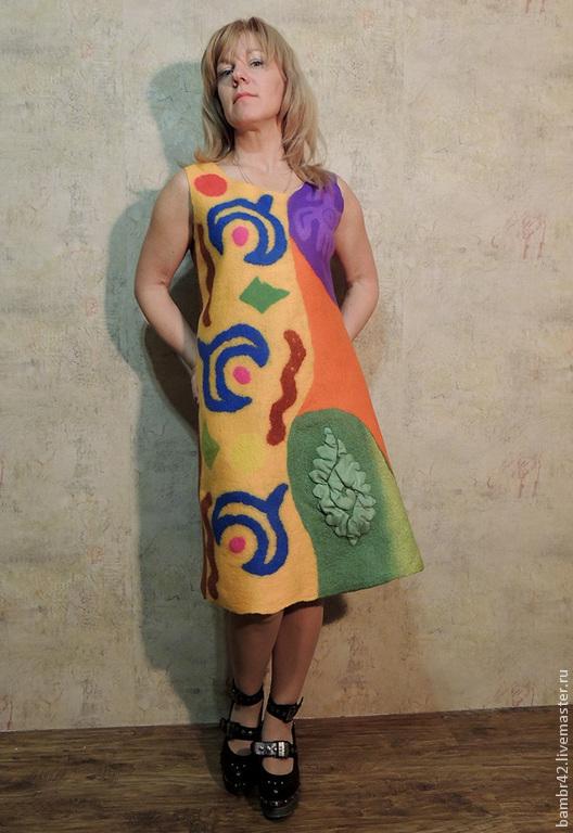Платья ручной работы. Ярмарка Мастеров - ручная работа. Купить Платье Мексика. Handmade. Орнамент, яркие цвета
