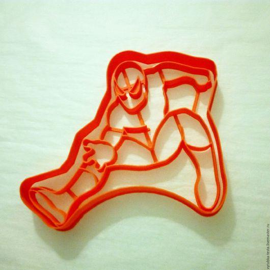 Кухня ручной работы. Ярмарка Мастеров - ручная работа. Купить Человек-паук - вырубка для печенья, пряников, мастики. Handmade. Комбинированный