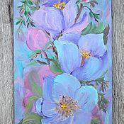 Картины и панно handmade. Livemaster - original item Pictures: Tenderness of petals. Handmade.
