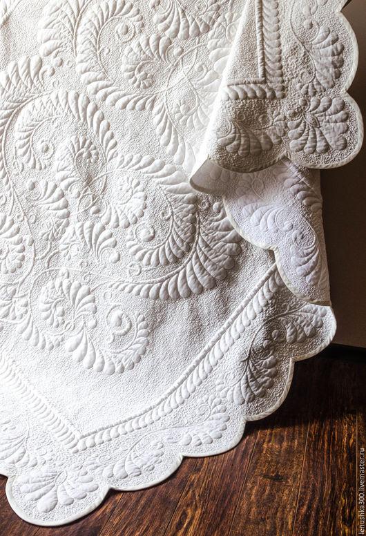 Необыкновенное одеяло. Пышное и лёгкое. Уникальная вещь для Вашего дома.