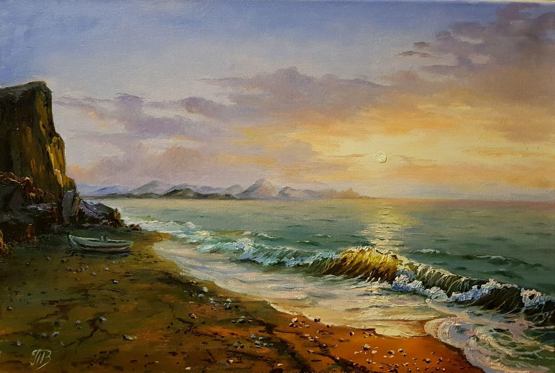 Пейзажи маслом на холсте высокой четкости картинки включая морские