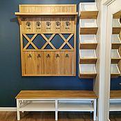 Для дома и интерьера handmade. Livemaster - original item Entrance hall Bergen oak. Handmade.