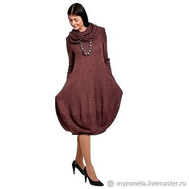 Одежда ручной работы. Ярмарка Мастеров - ручная работа Платье с хомутом. Handmade.