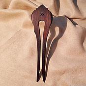 Украшения ручной работы. Ярмарка Мастеров - ручная работа Шпилька для волос Боярыня из дерева томинтозы. Handmade.
