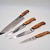 Сувениры и подарки handmade. Livemaster - original item Set of kitchen knives