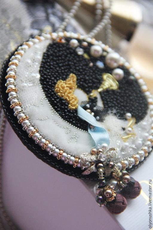 """Броши ручной работы. Ярмарка Мастеров - ручная работа. Купить Брошь""""Fata della Luna.Luxury Italia."""". Handmade. Брошь"""