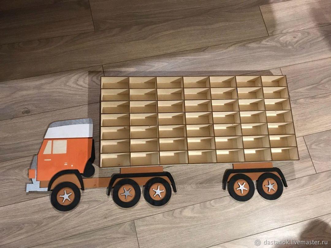Shelf for toy cars, Shelves, Orel,  Фото №1