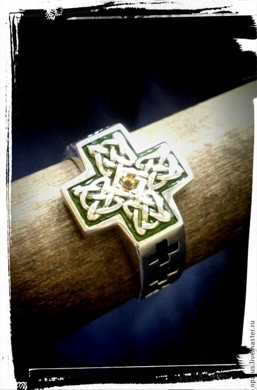 """Украшения для мужчин, ручной работы. Ярмарка Мастеров - ручная работа. Купить Кольцо """"Кельт"""". Handmade. Мужское кольцо, серебряное кольцо"""