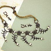 Necklace handmade. Livemaster - original item Shaman necklace, free shipping. Handmade.